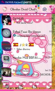 BBM DroidChat v5.7.26 Hello Kitty Versi 2.9.0.49 Apk