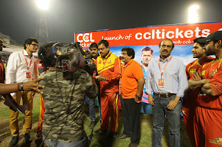 Telugu Warriors Vs Bengal Tigers Match Pictures at CCL 5    ~ Bollywood and South Indian Cinema Actress Exclusive Picture Galleries