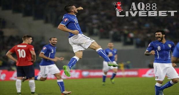 Agen Piala Eropa - Italia mengalahkan Norwegia 2-1 di laga terakhir babak kualifikasi Piala Eropa 2016.