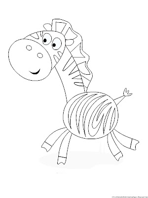 Zebra without stripes coloring page liehaudifqdoh for Zebra without stripes coloring page