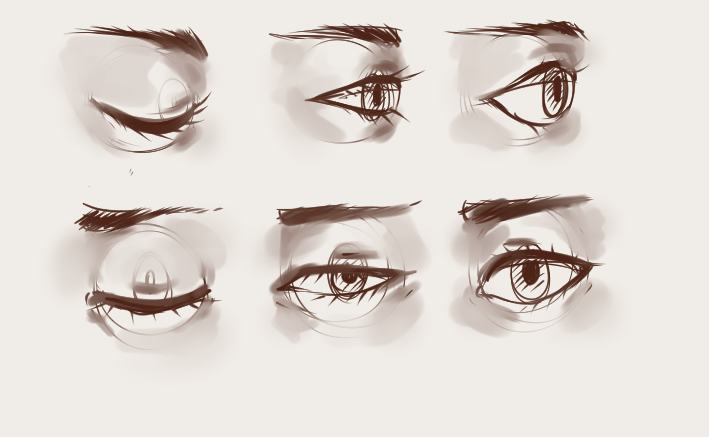 How To Draw And Color Eyes Anime Or Semi Realistic Draw Central