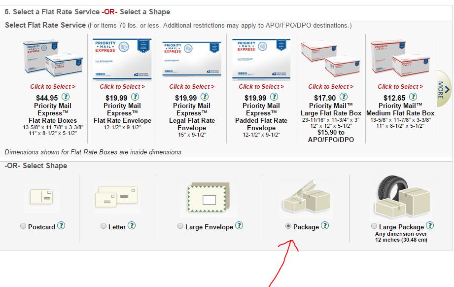 geek girlie stuff how to create mailing label for usps regional boxes. Black Bedroom Furniture Sets. Home Design Ideas