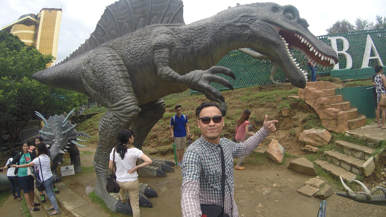 travel Vigan Ilocos Tour Sur Philippines tour tourism Baluarte zoo Chavit Singson dinosaur jurassic park