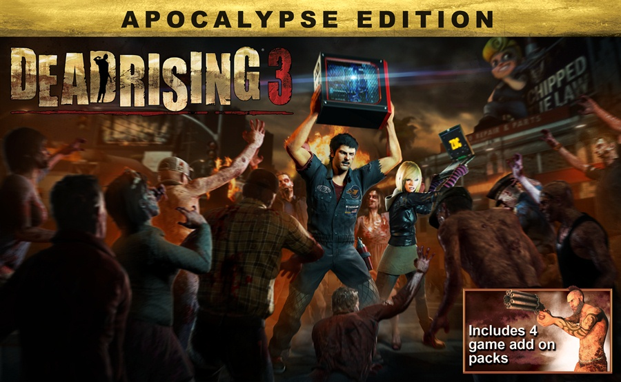 Dead Rising 3 Apocalypse Edition Poster