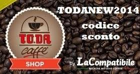 Usa il codice sconto per i tuoi acquisti : TODANEW2014