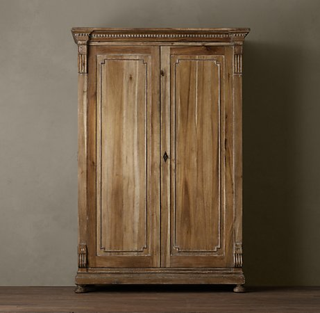 Restoration Hardware St. James Armoire $2395