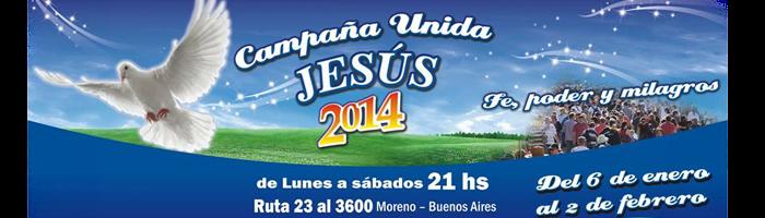 Campaña Unida Jesus 2014