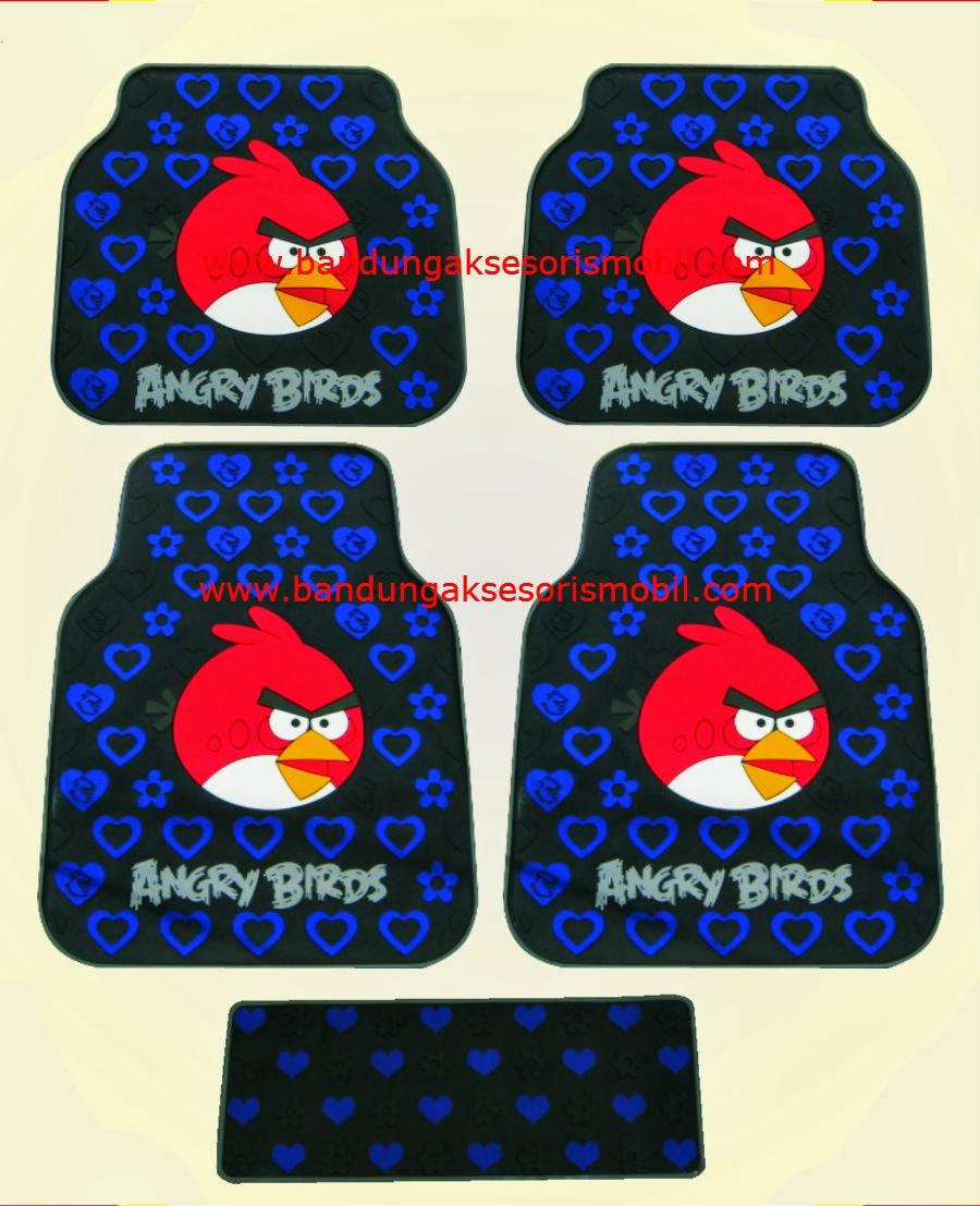 Karpet Angry Bird Biru