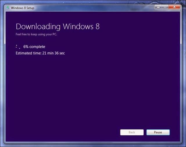 Cách hợp pháp để có tập tin cài đặt Windows 7/8/8.1