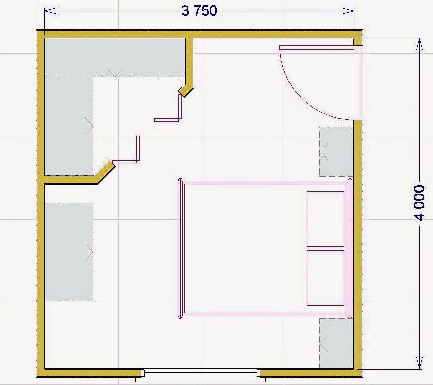 La cabina armadio soluzioni tipologie e costi for Piani cabina di una camera da letto