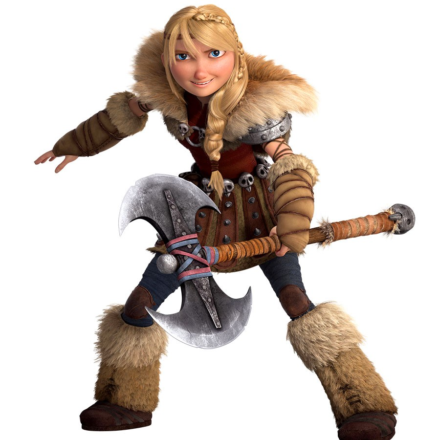 How to train a dragon girl astrid  sexy cutie