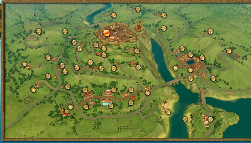 Mapa De Monte Vista Simfans Simsideas