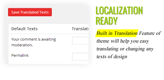 Localization Translation Ready - Maginess – Flexible Magazine WordPress Theme