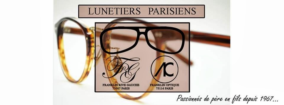 Franklin Optique et Franklin Rive Gauche Opticiens Parisiens
