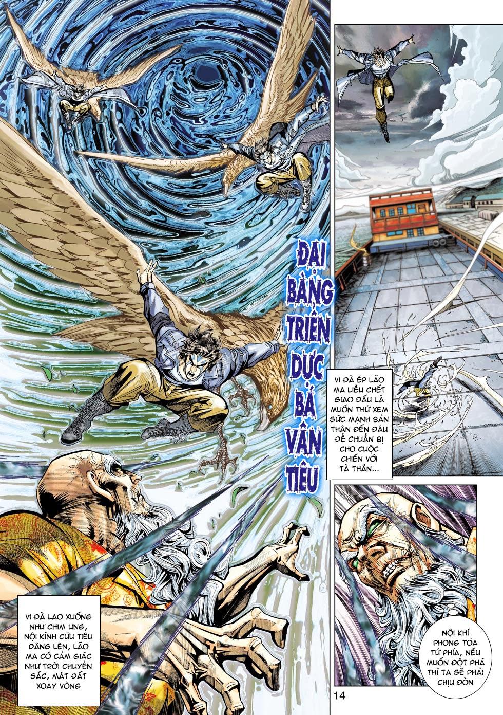 Tân Tác Long Hổ Môn chap 445 - Trang 14