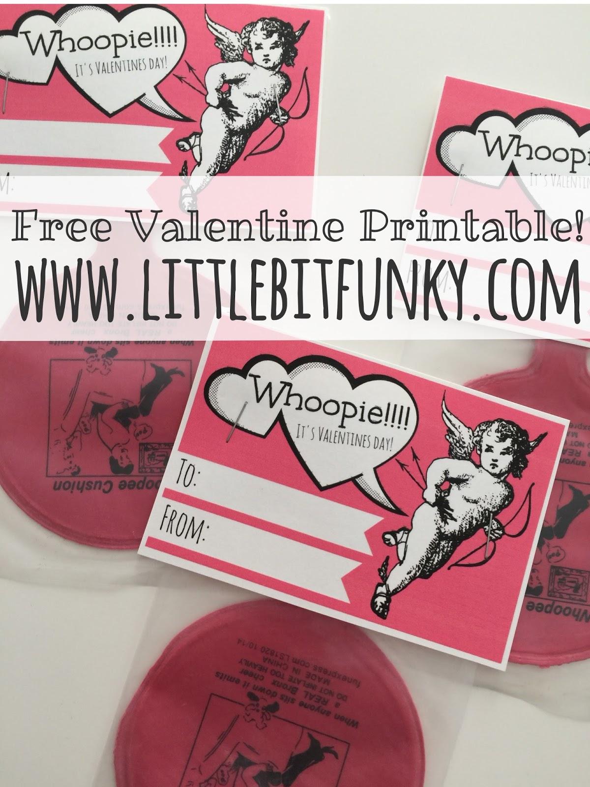 Whoopie! Itu0027s Valentines Day! {a Free Printable}