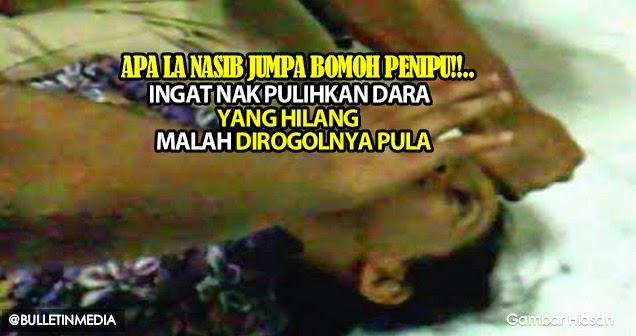Ingat Jumpa Bomoh Nak Pulihkan Dara Yang Hilang, Malah Dirogolnya Pula..