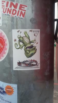 Shit Happens!...Pfeiler auf der Theresienwiese (Wiesn) | München