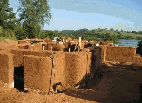 Traditional craft modern cob houses - Modern cob and adobe houses ...