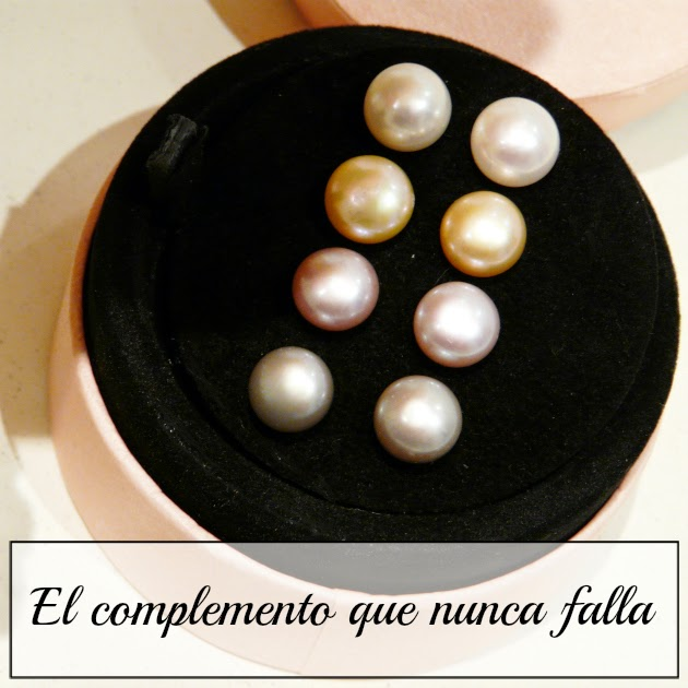 Pack de pendientes perlas de Tous