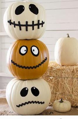 Calabazas decoradas para halloween manualidades cositasconmesh