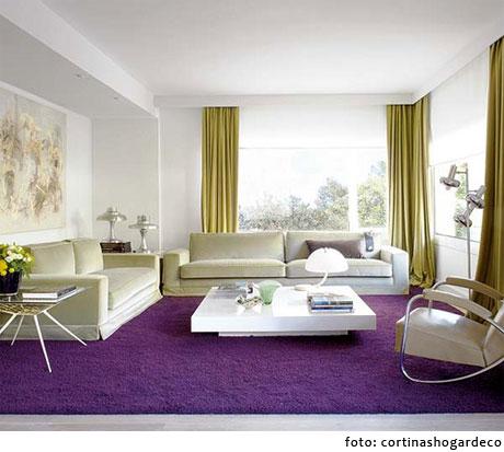 Combinaci n de colores decoraci n - Decorar un salon moderno ...
