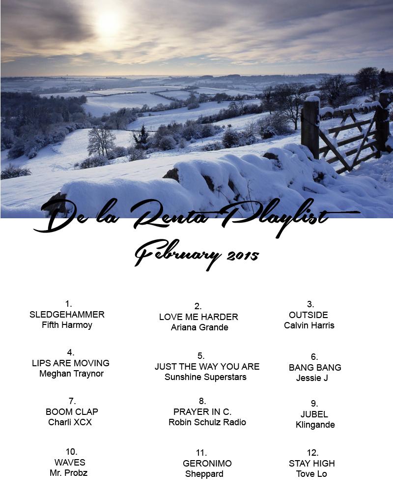 Running PlayList February 2015