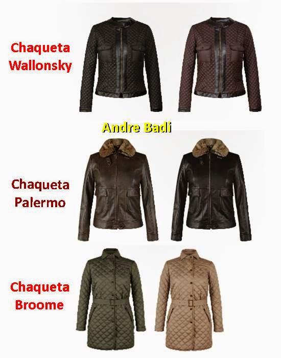 chaquetas de mujer andre badi inv.14