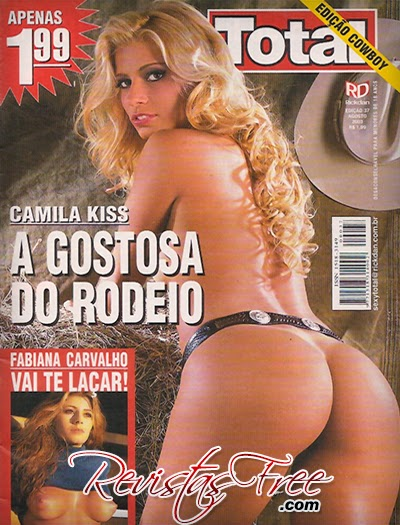Revista Total - Camila Kiss - Agosto 2003