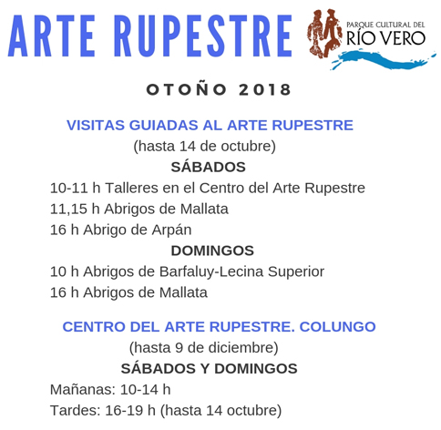 VISITAS GUIADAS AL ARTE RUPESTRE