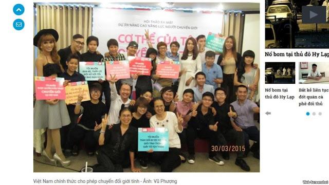 Việt Nam chính thức công nhận chuyển đổi giới tính