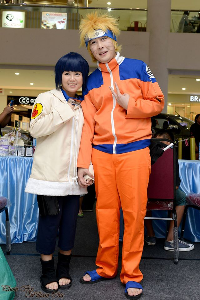 Me as Hinata, Darling as Naruto ♡ in SYNCHRONISE event