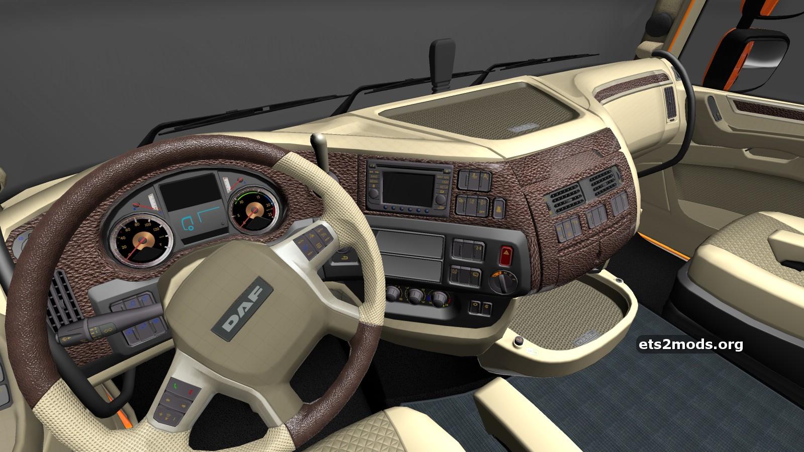 Daf euro 6 interior by zapenakpea ets2 mods for Daf euro 6 interieur