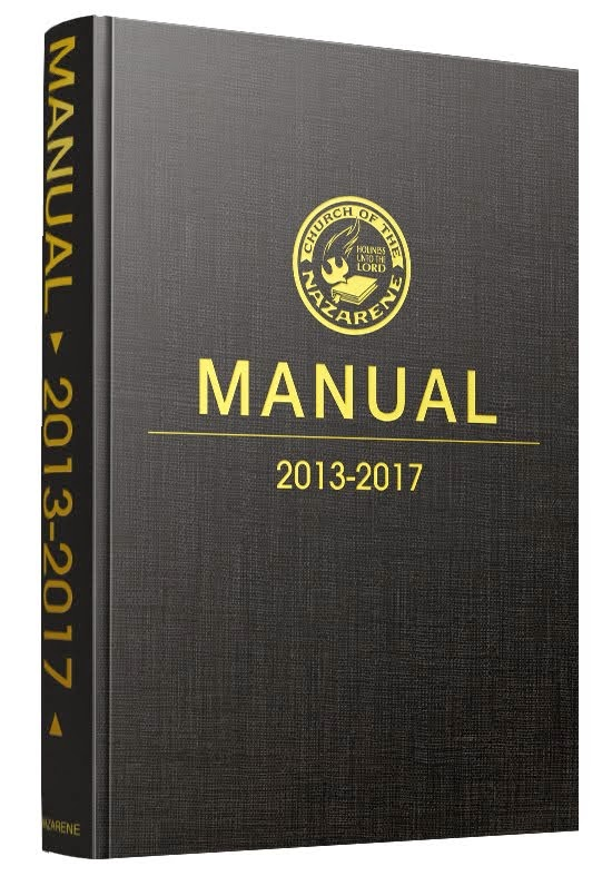2013-2017 Nazarene Manual (Book of Discipline)