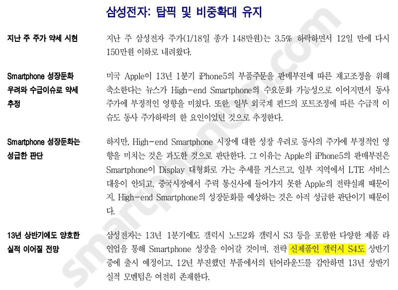 Kyobo Securities Samsung Galaxy S4 Leak