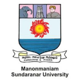Manonmaniam Sundaranar University Distance Education
