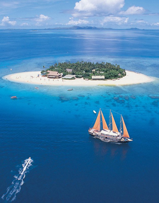 Beachcomber Island Resort,Fiji