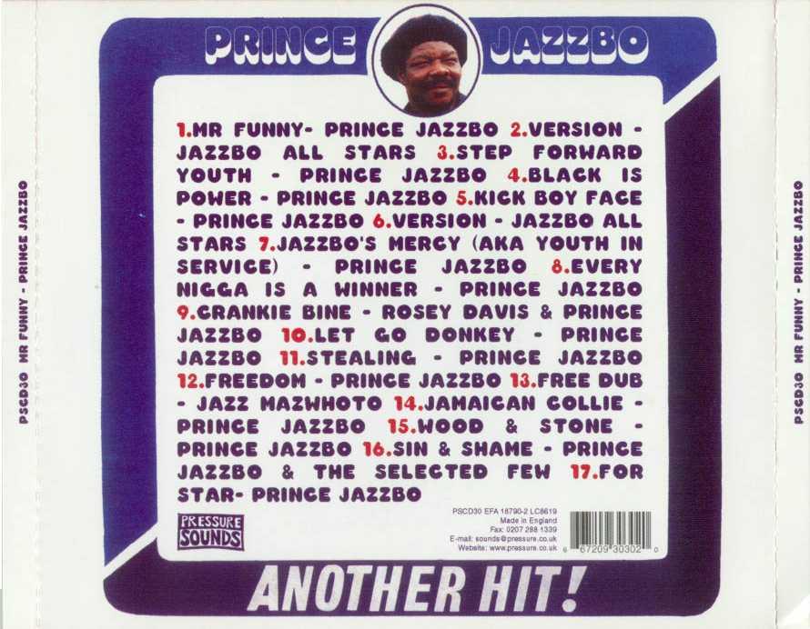 Prince Jazzbo Natty Passing Thru