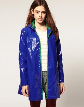 plastik regnfrakke