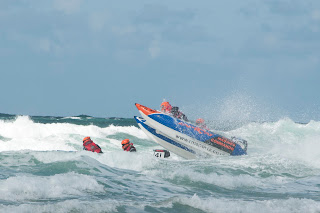 Zapcat racing Fistral beach Newquay Cornwall