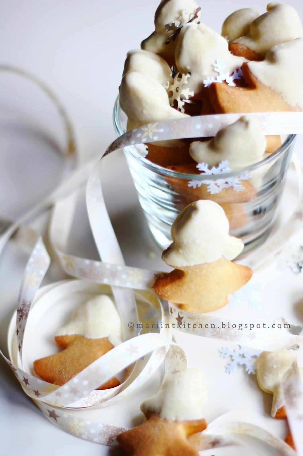 biscotti di natale #2: biscotti allo zenzero e cioccolato bianco