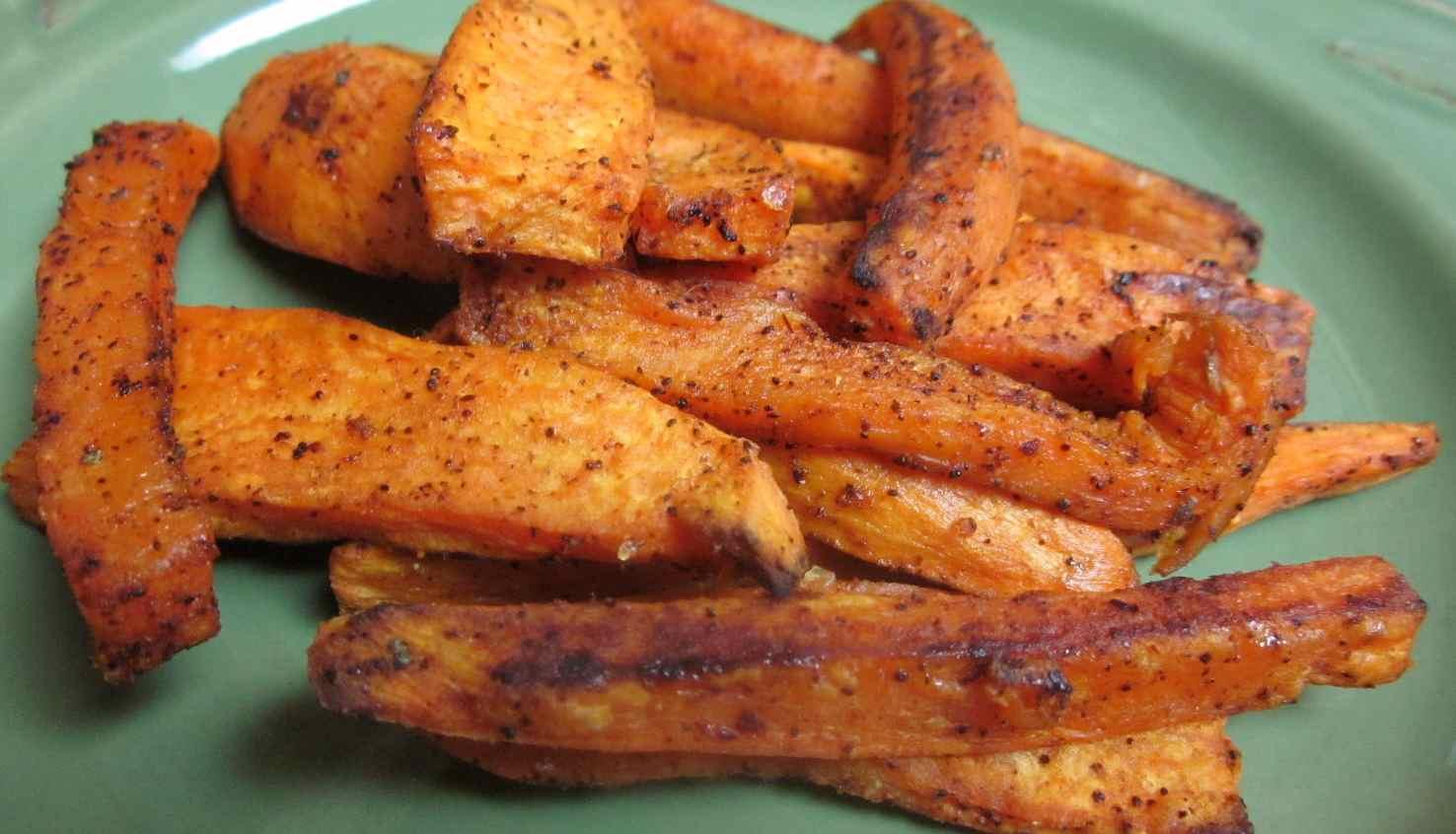 Karen's Vegan Kitchen: Hot, Sweet & Spicy Garnet Yam Fries