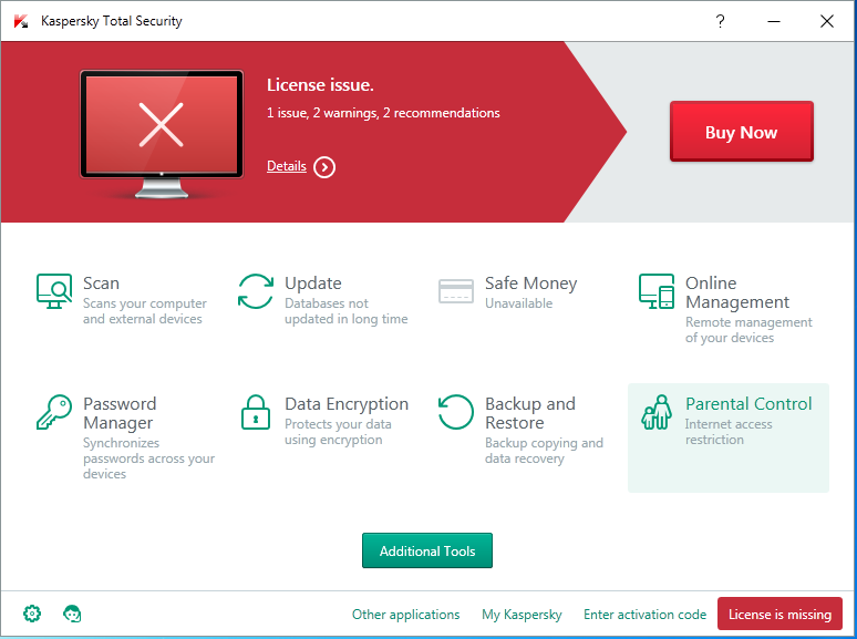 Kaspersky Internet Security 2016 Life Time Trial Reset 100