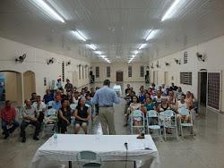 Dr. Renato em palestra na Semana Nacional Contra o Alcoolismo