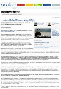 ...sobre Rafael Moneo: Ángel Gijón