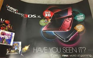 Ngày phát hành Nintendo 3DS XL được công bố