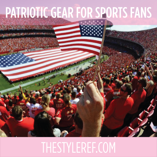 Patriotic gear for sports fans