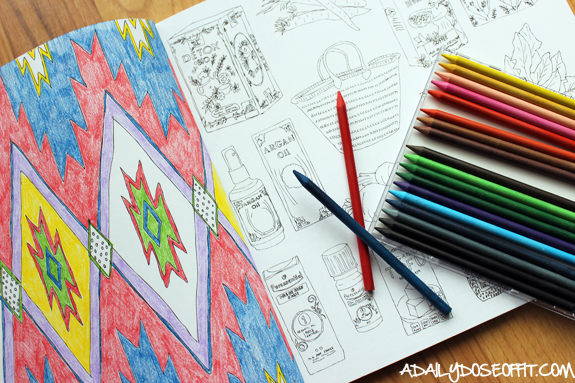 coloring books for adults. how to get more me time