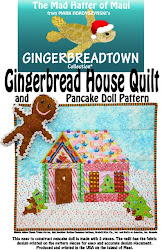 Gingerbread House Quilt and Pancake Doll Pattern