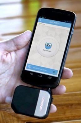 etilometro portatile per iOS e Android